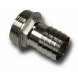 Barbed hose fitting 13-1/2""