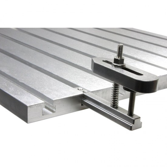 Aluminum T-slot extension for 10mm slots