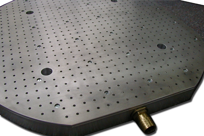 Custom vacuum table design