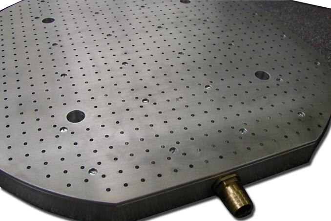 Custom vacuum table design